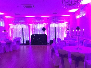 Gary Evans Weddings set up